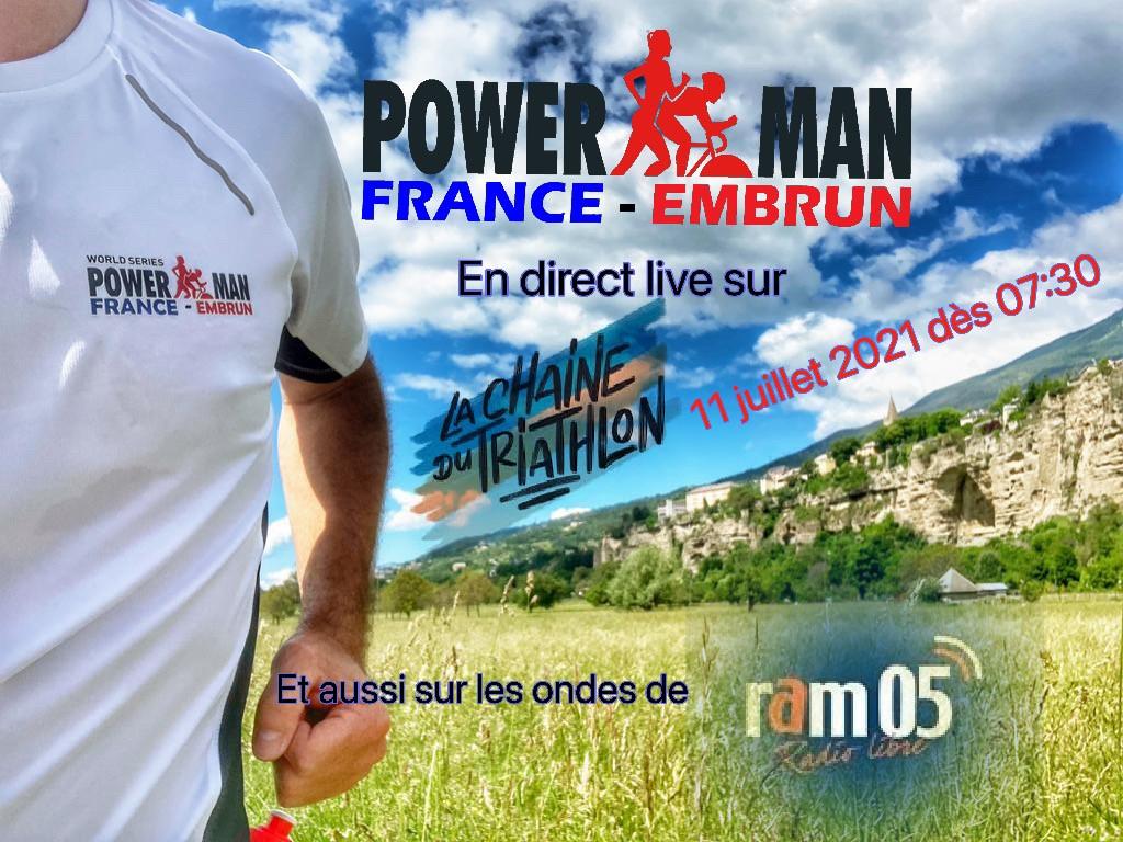 live embrun triathlon duathlon powerman